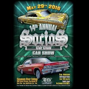 The Th Annual Socios Car Club Car Show The Motor Calendar - Car show in sacramento this weekend